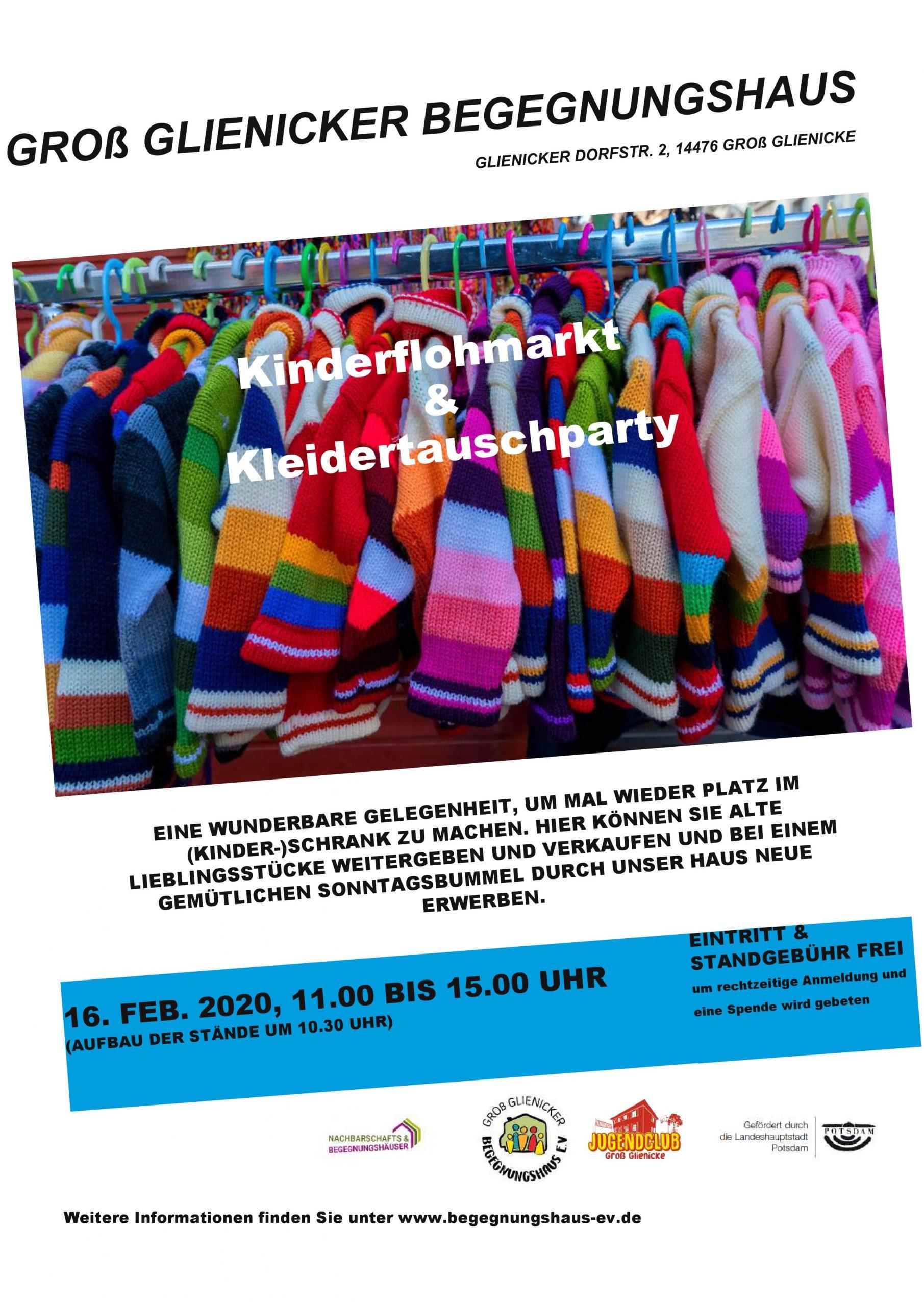 Kinderflohmarkt & Kleidertauschparty