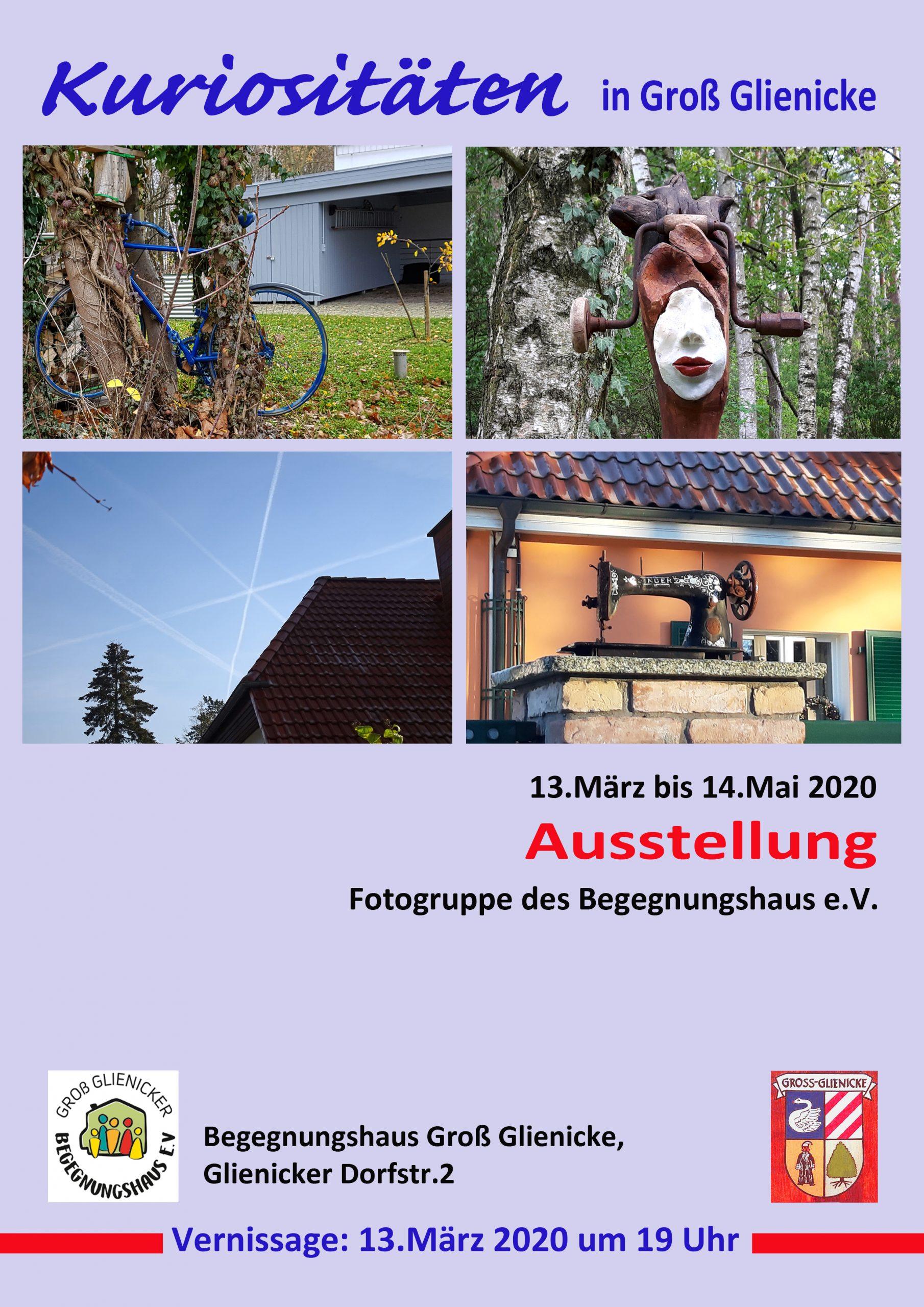 """Ausstellung """"Kuriositäten In Groß-Glienicke"""""""