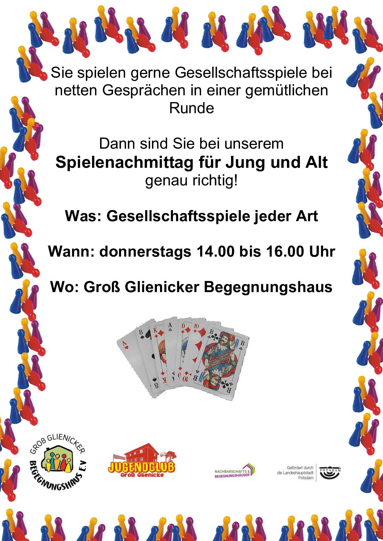 Spielenachmittag Für Jung & Alt